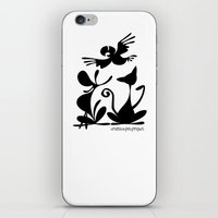Pet Logo iPhone & iPod Skin