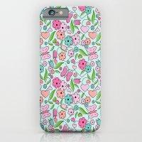 Sweetheart Aqua iPhone 6 Slim Case