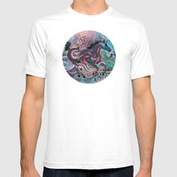 Poetry In Motion Mens Fitted Tee White SMALL