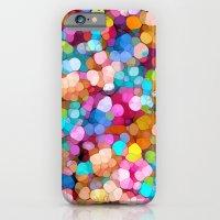 Rainbow Party Colors iPhone 6 Slim Case