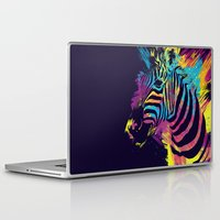 zebra Laptop & iPad Skins featuring Zebra Splatters by Olechka