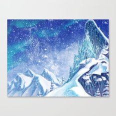 ~Frozen .:A Kingdom of Isolation:. Canvas Print