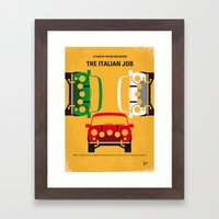 No279 My The Italian Job… Framed Art Print