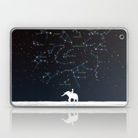 Falling star constellation Laptop & iPad Skin