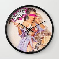 The Distracted Housewife Wall Clock