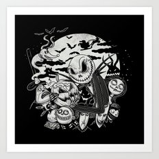 Filling Your Dreams to the Brim with Fright Art Print