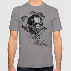 Lost Translation Mens Fitted Tee Tri-Grey SMALL