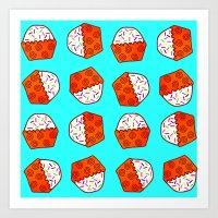 Cuppy Cake Art Print