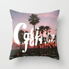 Balboa Pier, California Throw Pillow