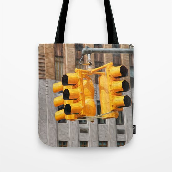 Traffic lights Tote Bag