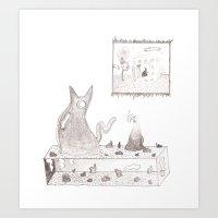 Display Shelf Art Print