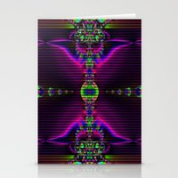 Abstract Fractal Fantasy 2 Stationery Cards