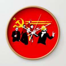 The Communist Party (original) Wall Clock