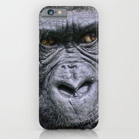 Portrait of a female Gorilla iPhone & iPod Case
