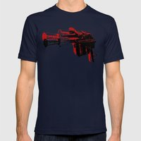 Blaster III Mens Fitted Tee Navy SMALL