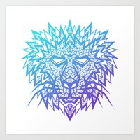 Heart of a Lion Art Print