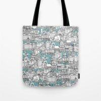 NOTTINGHAM BLUE Tote Bag