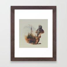 Norwegian Woods: The Squirrel Framed Art Print