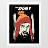 The Shiny Art Print