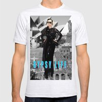 GYPSY LIFE Mens Fitted Tee Ash Grey SMALL