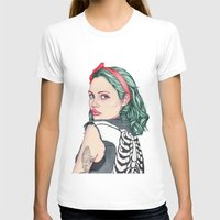 girl T-shirts featuring GIRL by Laura O'Connor
