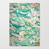 Moss Agate  Canvas Print