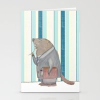 Dr Beaver Stationery Cards