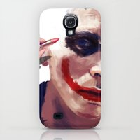 Galaxy S4 Cases featuring Christian Bale by Pazu Cheng