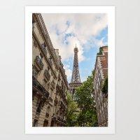 Hello, Paris Art Print