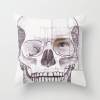 EFÍMERO Throw Pillow