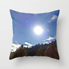 Sun For All Throw Pillow