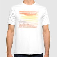 Heron's Head Mens Fitted Tee White SMALL