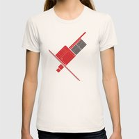 Floppy Disk Womens Fitted Tee Natural SMALL