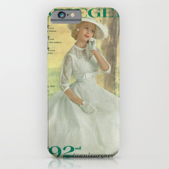1957 Spring/Summer Catalog Cover iPhone & iPod Case