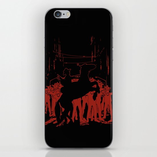 Zombie Crossing iPhone & iPod Skin