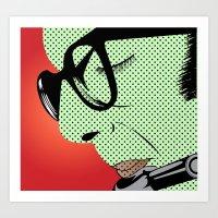 Herbie Mann Art Print