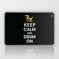 Keep Calm and Drum On  Laptop & iPad Skin