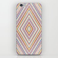 CRAYON STRIPES iPhone & iPod Skin