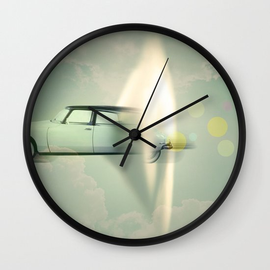 supersonic citroen Wall Clock