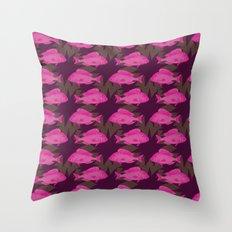 Sealacampus Throw Pillow