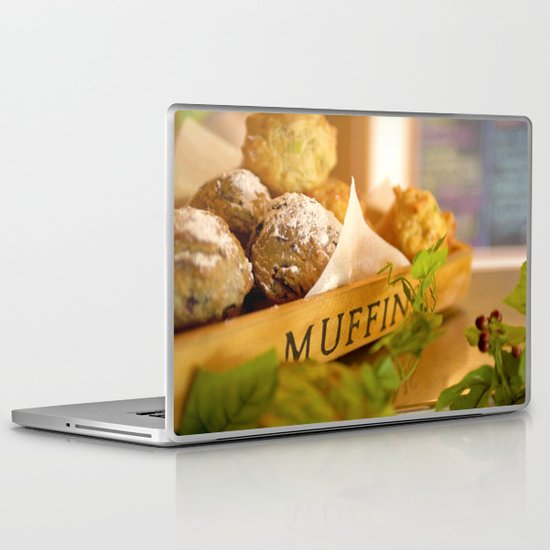 Muffins, fresh and warm, thanks Mom! Laptop & iPad Skin