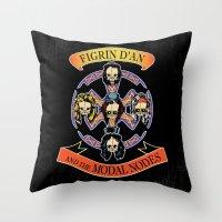 Figrin D'An and the Modal Nodes Throw Pillow