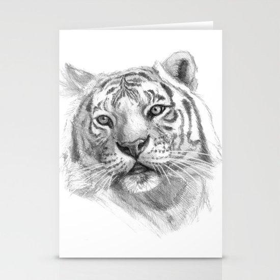 Sentimental Tiger SK118 Stationery Card