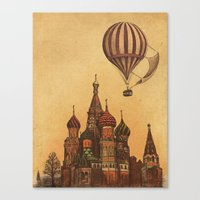 Moving to Moscow Canvas Print