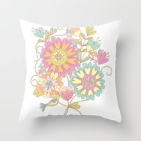 Lily & May Throw Pillow