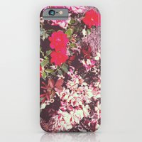 iPhone & iPod Case featuring Flowers by Liz Shattler