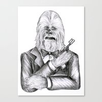 Wookie 007 Canvas Print
