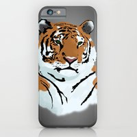 iPhone & iPod Case featuring Tiger by Anthony Bellus
