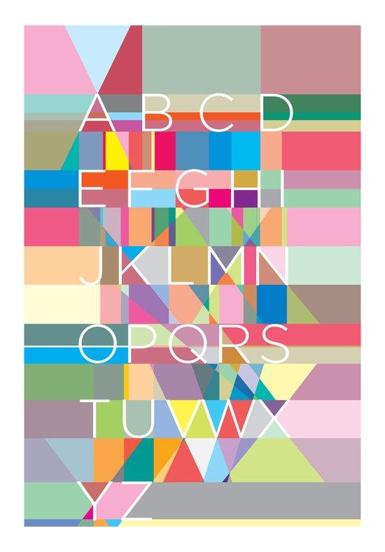 Letters3 Art Print