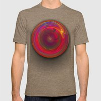 The Circle Of Forever Mens Fitted Tee Tri-Coffee SMALL